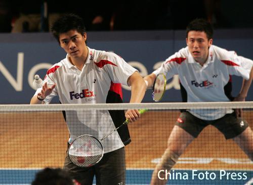 蔡赟付海峰兄弟也吵架 黄金搭档的奥林匹克梦