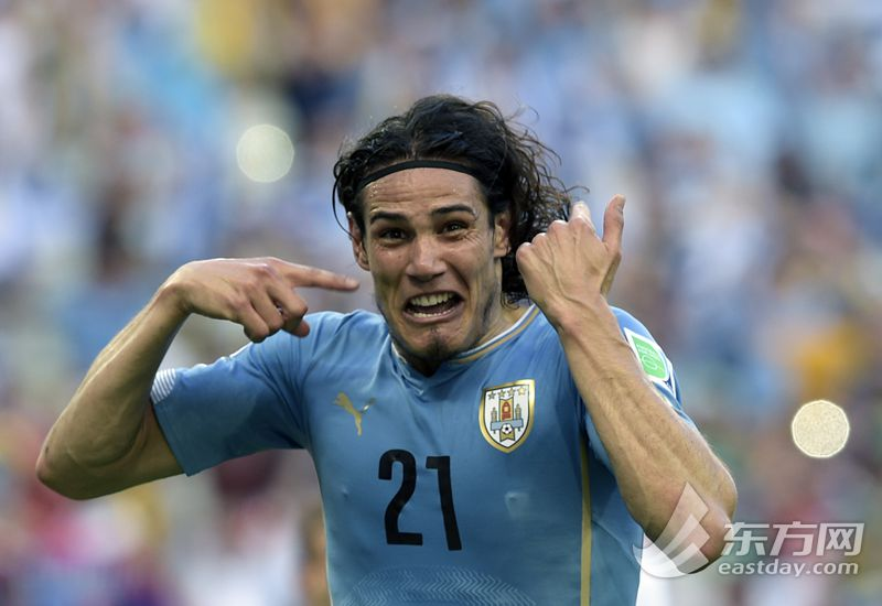 2014巴西世界杯小组赛D组:乌拉圭-哥斯达黎加