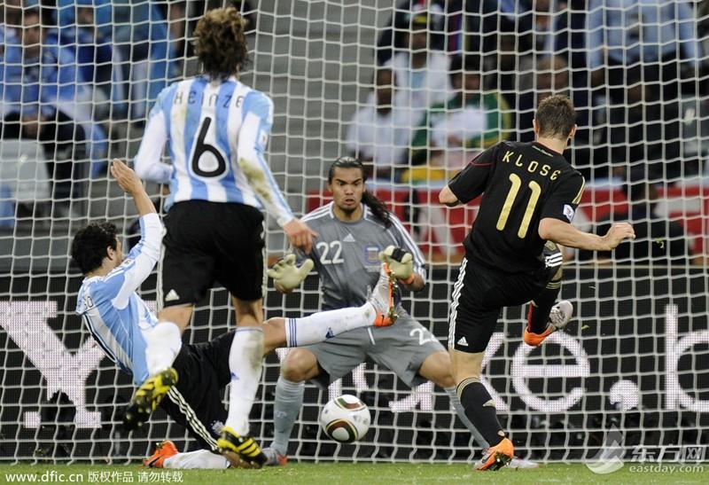破罗纳尔多进球纪录 16球独占世界杯射手榜榜