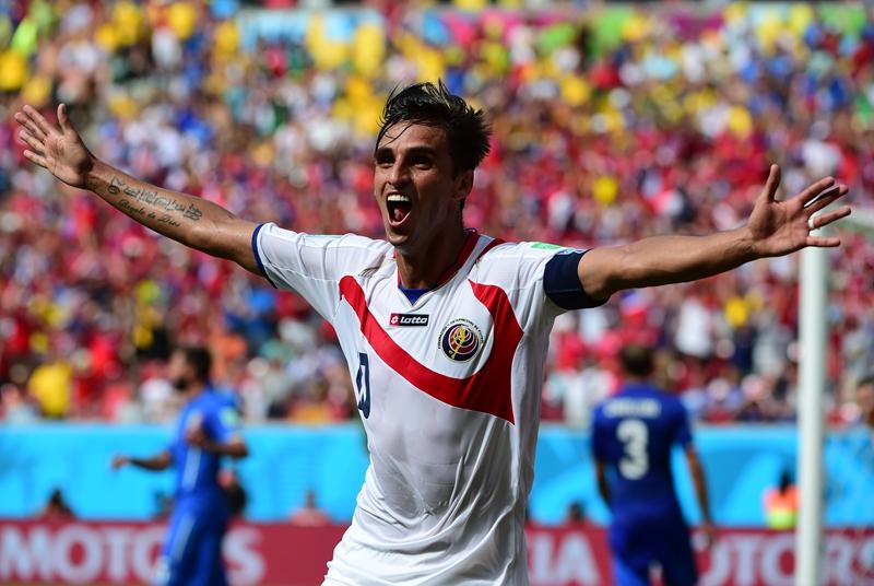 2014巴西世界杯小组赛D组:意大利-哥斯达黎加
