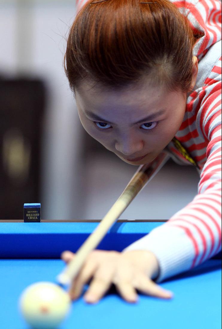 中国选手刘莎莎