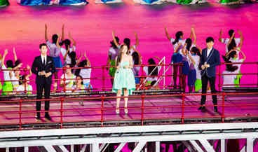 南京青奥会筑梦_2014南京青奥会开幕式:《筑梦》表演美轮美奂