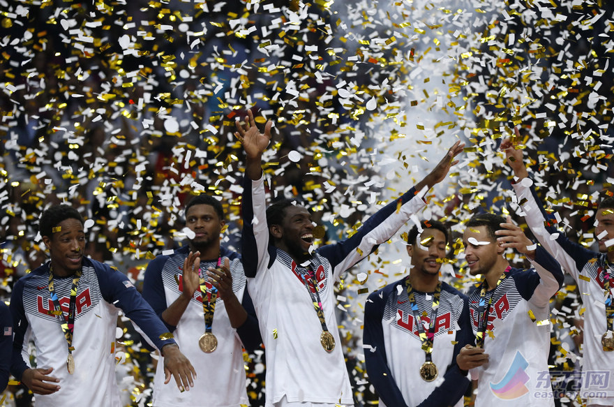 2014男篮世界杯决赛:美国129-92塞尔维亚 欧文