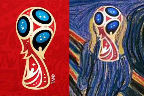 2018年俄罗斯世界杯官方标识在莫斯科正式揭晓,俄罗斯人煞费苦心设计