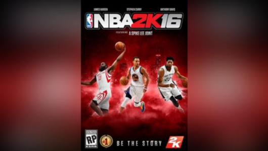库里哈登成NBA2K16封面人物 杜兰特遭浓眉哥