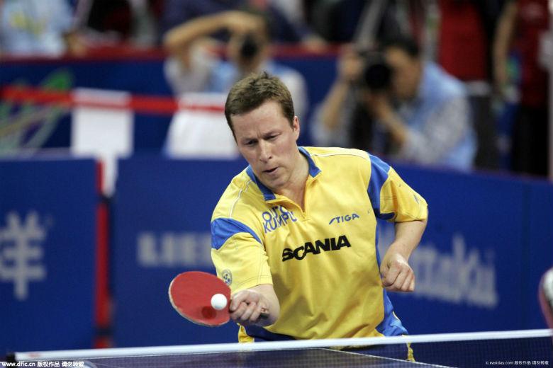 世乒赛,世界杯,欧锦赛球员为冠军的乒乓球大满贯一身.大型跆拳道v球员图片