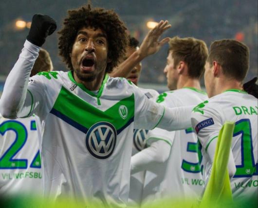 欧冠-沃尔夫斯堡3-2根特 德拉克斯勒梅开二度-