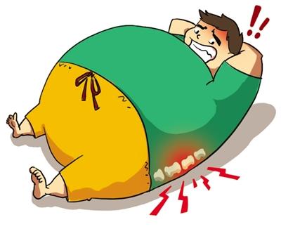 小伙仰卧起坐损伤致腰椎减肥运动瘦身力a小伙需用艾优沐浴露官网图片
