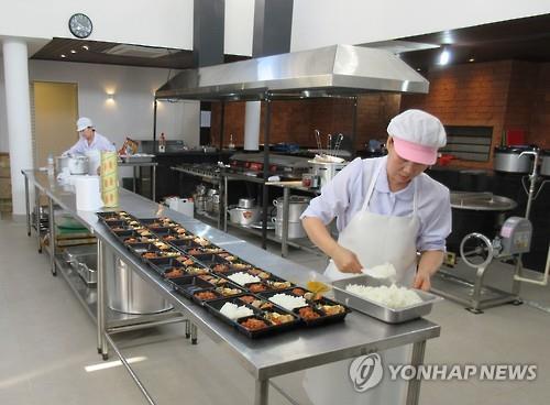太任性!饭菜不合口味 韩国军团奥运村自建食堂