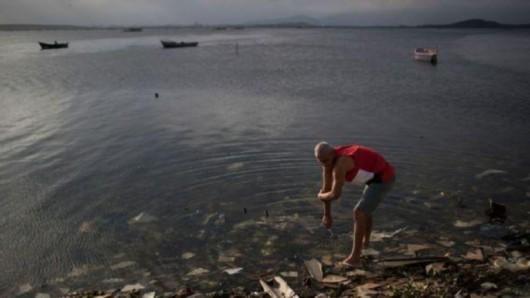 里约水域似细菌培养皿 专家称饮用3茶匙可致病