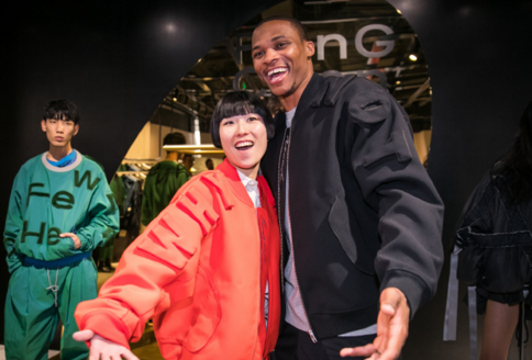 NBA中威斯布鲁克到访大中华 用颠覆精神激励新一代球员