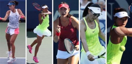中国军团5人进美网次轮 创大满贯最佳战绩
