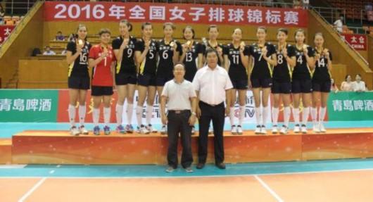 女排全锦赛上海3-0江苏夺冠 北京胜天津摘铜