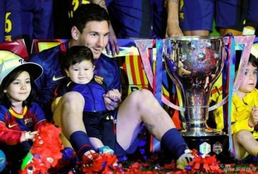 梅西爆料自己的儿子不喜欢足球
