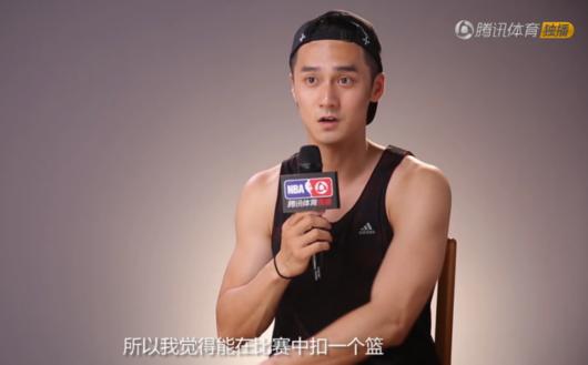 蒋劲夫名人赛专访:上演720度暴扣 助吴亦凡砍50分