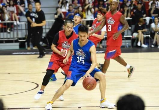 刘帅良企鹅名人赛对阵NBA球星:既过瘾又好玩