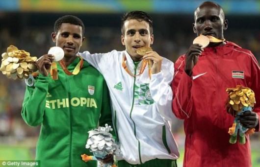 残奥男子1500米前四成绩惊人 超里约奥运冠军