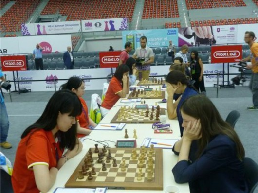 力克劲敌俄罗斯 中国女队隔12年再夺奥赛冠军