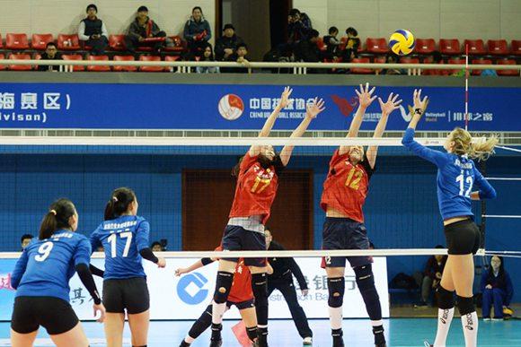 14女排联赛半决赛_1415赛季女排联赛半决赛次场江苏中天2比3不
