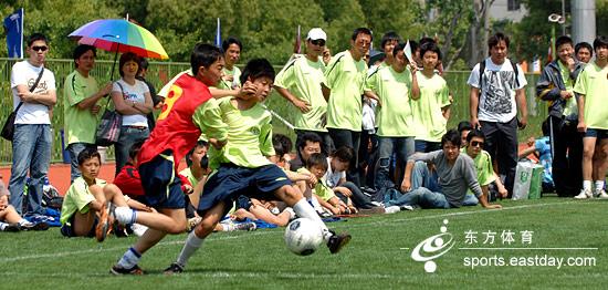 2008 茵宝杯 上海五人制足球赛今日开幕[图]