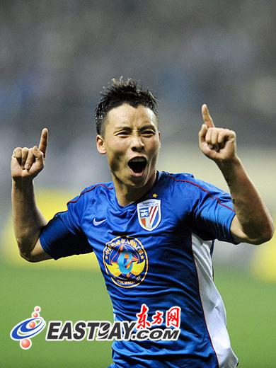 半场战报 安塔尔进球陈涛反超 申花2 1领先鲁能